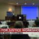 Wings for Justice Talk Raises Awareness